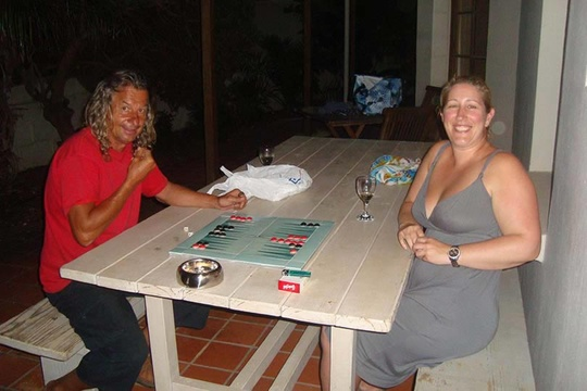 Bronwyn - Backgammon Queen!