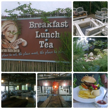 Treat yourself to a little something yummy at Totties Farm Kitchen along the Rheenendal Ramble