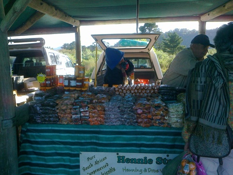 Dried fruit stall at Wild Oats Market