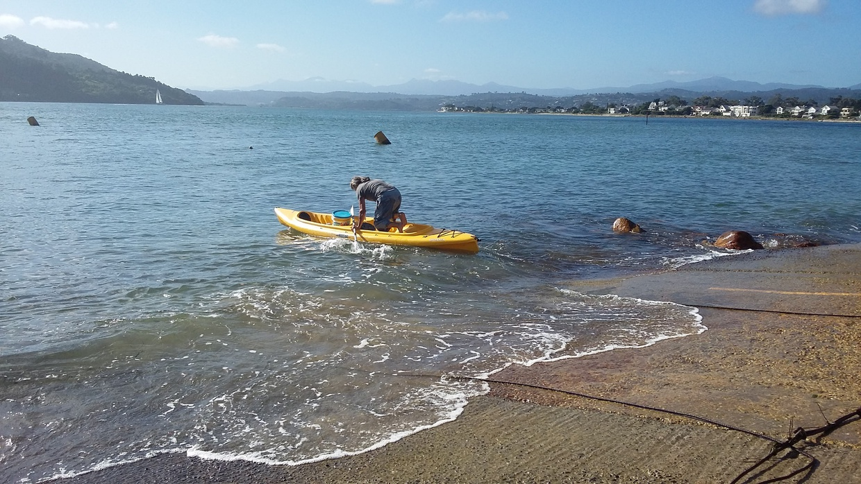 We will gladly lend your our kayak when you visit Hope Villa B&B at Knysna Heads